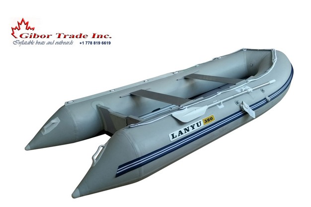D380H Adventure inflatable boat